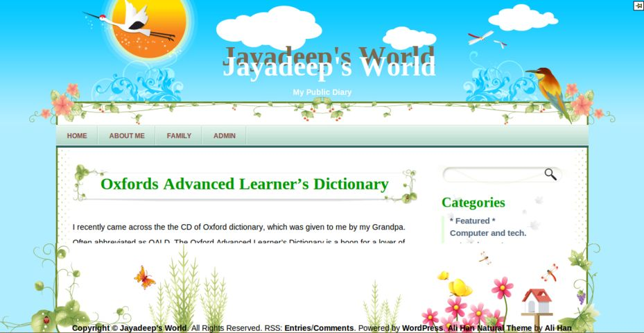 Jayadeep's World